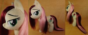 Brush-A-Plush wet mane Roseluck plushie SOLD. by Zooher-Punkcloud