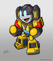 1984 Autobot Sunstreaker by MattMoylan
