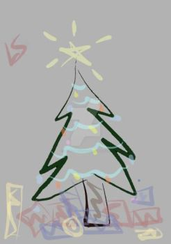My Christmas tree by LadySapphire04