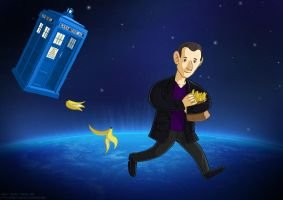 The Ninth Doctor by Asaph