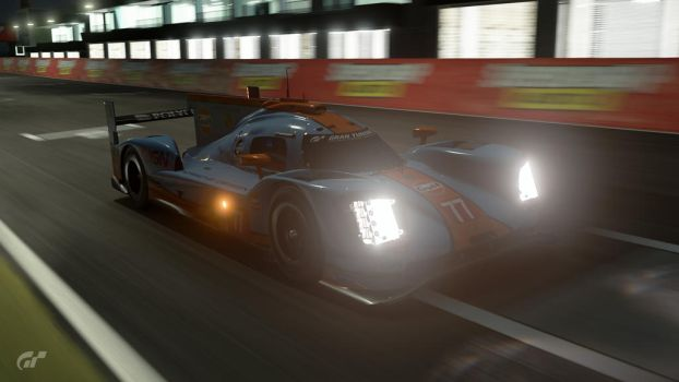 Porsche 919 at Night by SonicAndTailsfan64