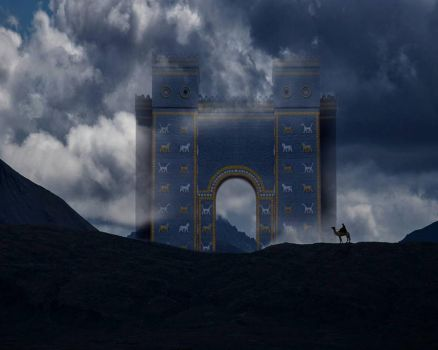 Ishtar Gate                           by Morteze