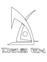 Deus Ex vector logo by darth-biomech