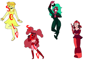 Gem Adoptables! (2/4 OPEN!) by ocarinaofmist