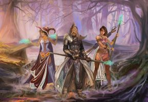 The Three Wizards by BramLeegwater