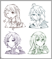 [Sketch_Request] Batch 4 by Ceviya