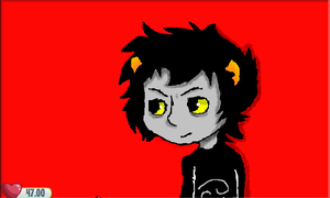 Karkat Aj Art by GeekyDragon5