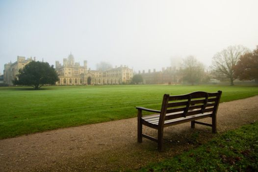 Foggy Morning In Cambridge III by torobala