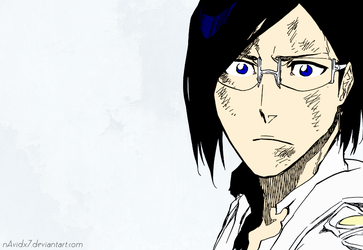 Uryu in Bleach 681 by nAvidx7
