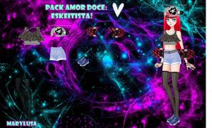 PACK AMOR DOCE LOOK NOVO SKEITISTA by Marylusa18