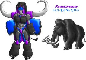 OTF Feralbrawn Redux - Colored by Autobot-Windracer