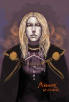 Young rebellious Sauron by Maureval