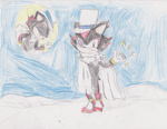 .:CONTEST ENTRY:. Kaito Shadow by MsLunarUmbreon