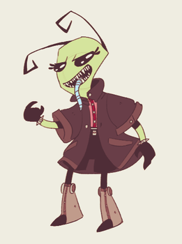 ANGRY LIL PUNK by BatLover800