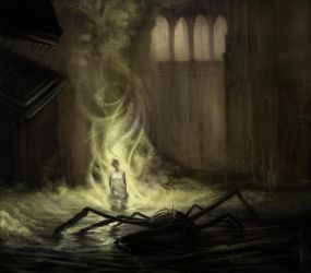 cathedral creature by nailone