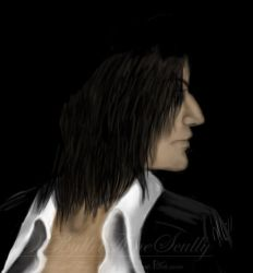 Severus Snape by BulletTimeScully