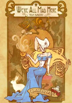 Alice :: Tea Salon by JinxedJinx