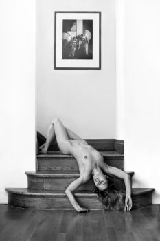Wooden Stairs by NickGiles