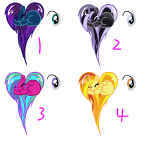 Little Pony Adopts 5 -CLOSED- by KalineReine