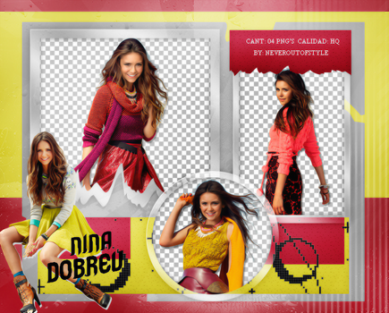 Png Pack 1023 // Nina Dobrev by confidentpngs