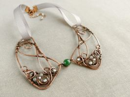 Collar Emerald 00 by UrsulaJewelry