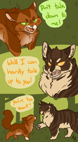 Low Blow Brambleclaw by ArticPawprint