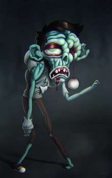 Traditionnal Zombie by Solleck