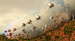 The attack of the shrooms by janhein