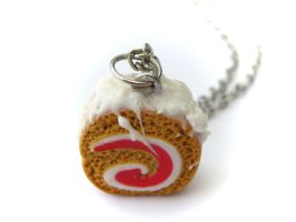 Cakeroll Charm by PumpkinDream