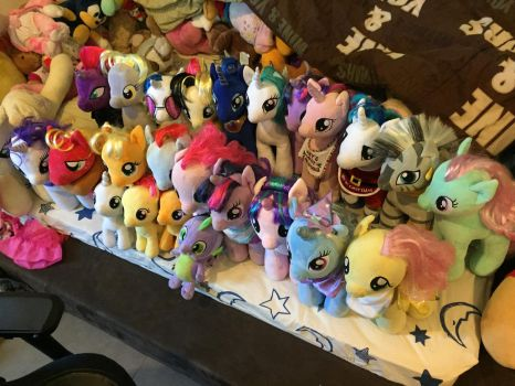 Build a Bear My Little Pony as of 7/10/17 by angelicoreXX