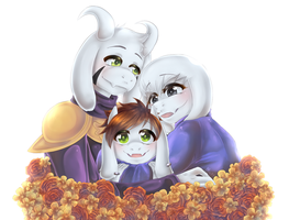 A Happy Family by Jellymii