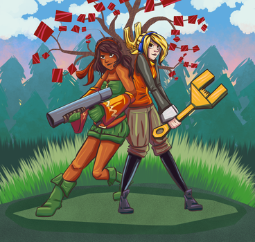 The Iconoclasts by Colourcloud