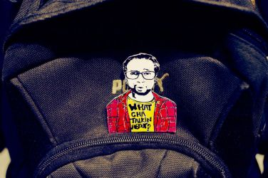 My Friend turned into a Pin by CleverTrever