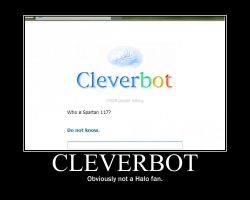 Cleverbot--(Poster) by XPvtCabooseX