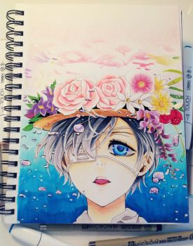 ciel phantomhive by Fangirl342