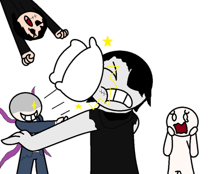 PILLOW FIGHT!!! by SCP-096-2