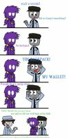 fnaf comic 'the backpack' by Wyldstyle101