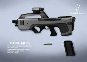 P109- Ares Assault rifle by danimedr