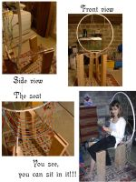 Electric Cable Chair: finished by wingsfell