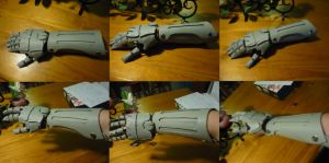 WIP - Automail Forearm by MrOrangeCreamsicles
