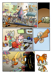 Sonic's World - The Sting Page 1 by MamboCat