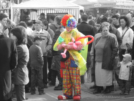 .: Busy clown :. by madutza5443