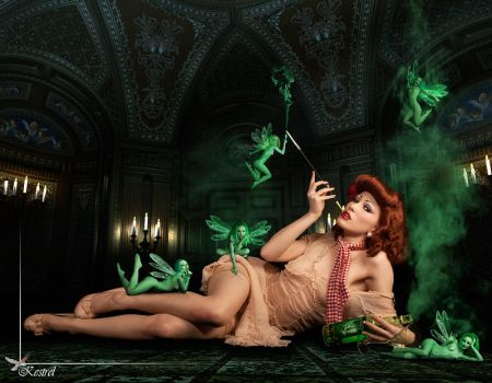 Absinthe Fairy shoot by Ryo-Says-Meow