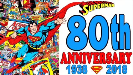Superman 80th Anniversary by RoyPrince