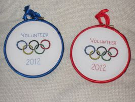 Olympic Hoops! by VickitoriaEmbroidery