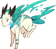    DTA    Water Giaflame- CLOSED! by ShoniiAdopts