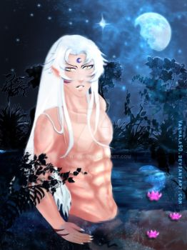 In the Moonlight by Valhala90