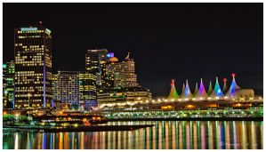 Vancouver Night by Raylau