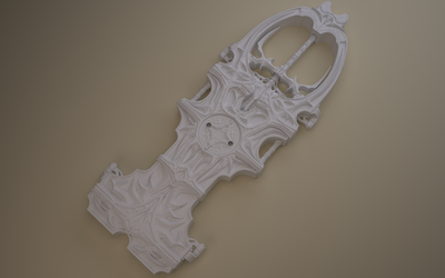 No Name Weapon - WIP 1 by Samouel