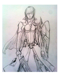Lightning Sketch by LaneCornell